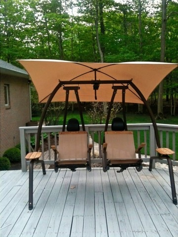 Sunset Swing Canopy Fabric